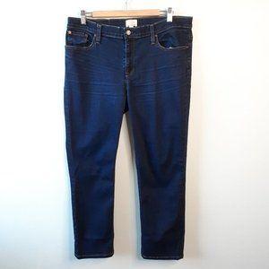 {J Crew} Matchstick Denim Jeans Medium Wash Sz 32